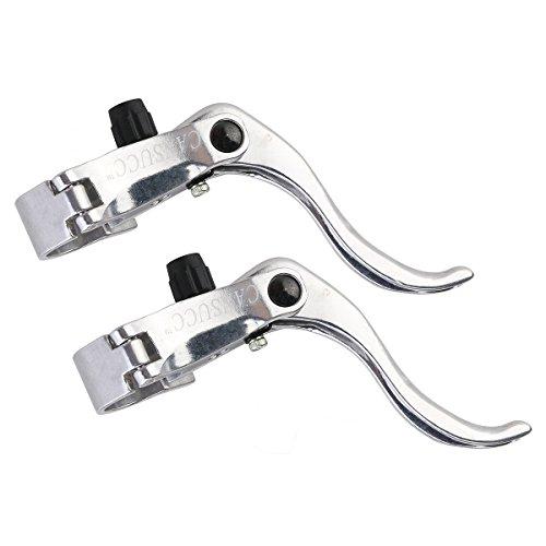 VORCOOL 1 Paar Fahrrad Bremshebel Fixed Gear Bremse Fit 22,2 mm / 24mm