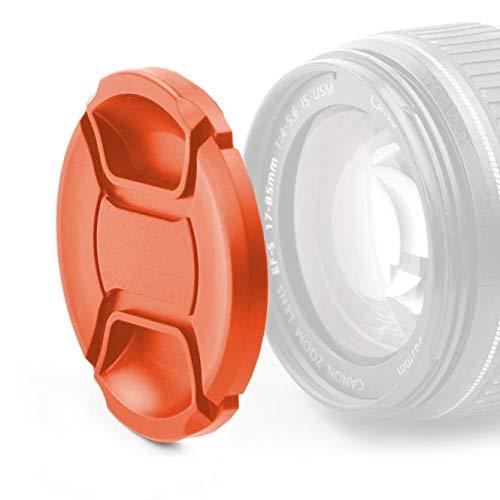 CELLONIC Objektivdeckel Vorderseite kompatibel mit Fuji Fujinon XF 16mm F1.4 R WR Fujinon XF 18-135mm F3.5-5.6 R LM OIS WR - Ø 67mm, Snap On: Innengriff/Center Pinch Kappe Schutzdeckel