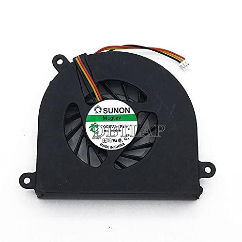 DBTLAP Laptop CPU Fan Compatible for Lenovo IdeaPad Y550 Y550P Y550A GB0507PHV1-A 13.V1.B3833.F.GN 5V 1.15W AB7005HX-LD3 KIWB1 Cooling Fan