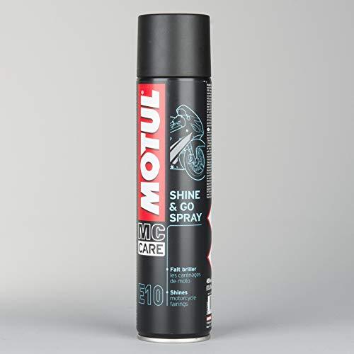 Spray Abrillantador para Motos - MC Care™ E10 Shine & Go Spray, 400ml