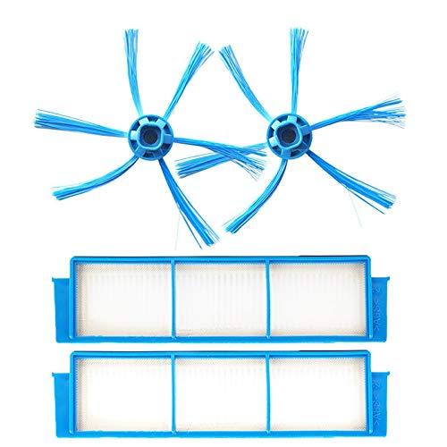Style wei Accesorios para Aspiradora 2 filtros HEPA y 2 cepi
