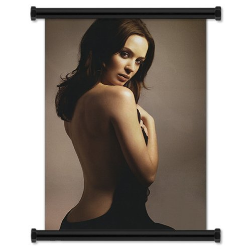 Yutirerly Emily Blunt Sexy Hot English Actress Fabric Wall Scroll Poster (16