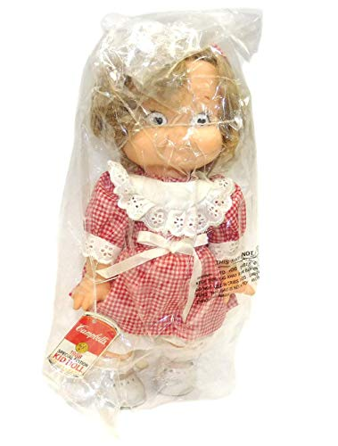 Vintage NOS 1988 Campbell's Soup Special Edition Girl Kid Advertising Doll
