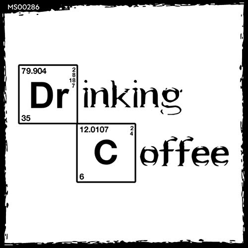 t? Magnet-Sticker: Drinking Coffee - Periodensystem