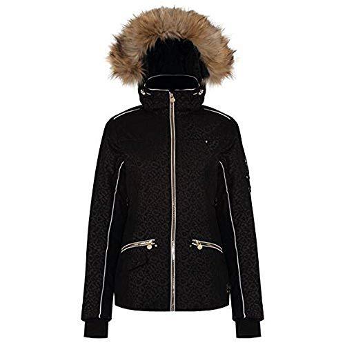 Dare 2b incentivise Damen Skijacke, damen, Incentivise, schwarz (Black Leopard Print), Gr. 36 (Herstellergröße: 10)