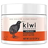 Kiwi Botanicals Nourishing Body Butter with Manuka Honey & Shea Butter for Dry Skin, 8.5 oz