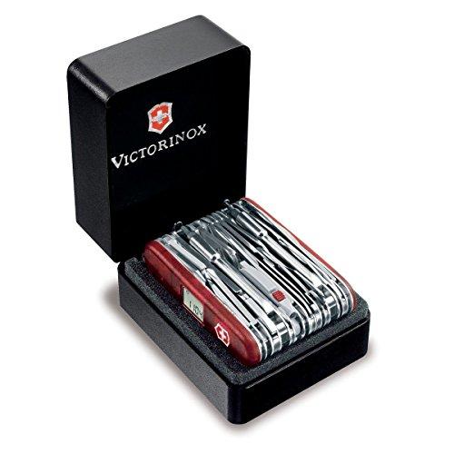 Victorinox Swiss Army Multi-Tool, SwissChamp XAVT Pocket Knife, Ruby