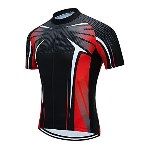 Verano Francia Ciclismo Jersey Mtb Camisa Bicicletas Ropa Bicicleta Ropa Hombre Corto Maillot Ropa Ciclismo, Hombre, N.º 1, L