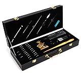 Medidor de anillos, material metálico de calidad Medidor de anillos Juego de herramientas de medición Medidor de anillos Herramienta de medición para anillo Detector de diamantes para