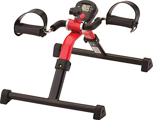 NOVA Medical Products Pedal Exerciser with Digital Display Tracker, Foldable Hand and Foot Cycle...
