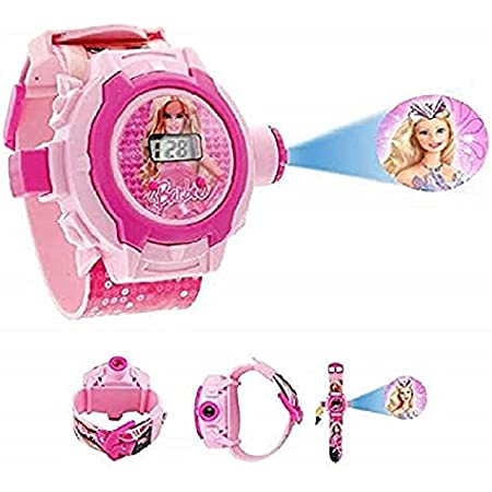 Trade Globe Digital 24 Images Cartoon Characters Projector Watches for Kids, Diwali Gift, Birthday Return Gift - Color May Vary
