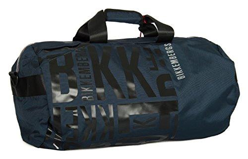 Bikkembergs Borsone borsa tracolla tempo libero sport uomo articolo 6BD4901D DB-SOFT BIG DUFFLE, D19 - Navy blue, UNICA - ONE SIZE