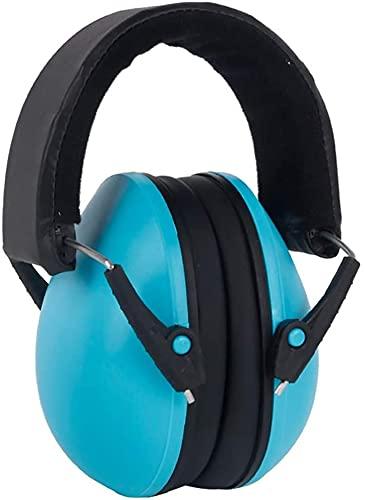 TXXM Dziecko Dźwiękoszczelne Earmuffs, Childrens Baby Ochrona przed hałasem (Color : Blue)