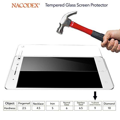 2x Glass Screen Protector For Lenovo VIBE S1 , [2 Pack] Ballistic Tempered Glass Screen Protector [Anti-scratch, 0.3mm] (For Lenovo VIBE S1)