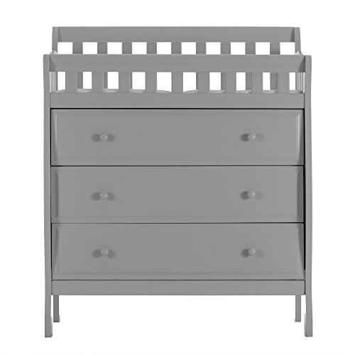 Dream On Me, Marcus Changing Table and Dresser, Grey