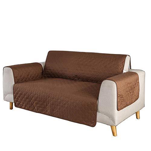 Cxssxling - Funda protectora de sofá impermeable para sala de estar y sofá con correa elástica, lavable y protección para mascotas
