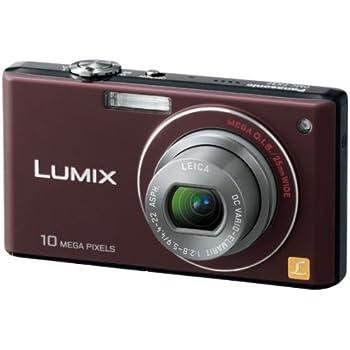 パナソニック デジタルカメラ LUMIX (ルミックス) FX37 ショコラブラウン DMC-FX37-T