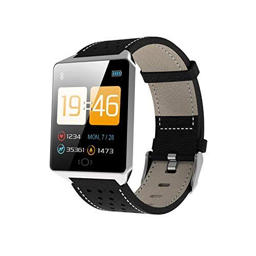 YWXG Fitness Armband mit Pulsmesser,Wasserdicht IP67 Fitness Tracker Aktivitätstracker Pulsuhren Smartwatch Schrittzähler mit Vibrationsalarm Anruf SMS Whatsapp für iPhone Android Handy