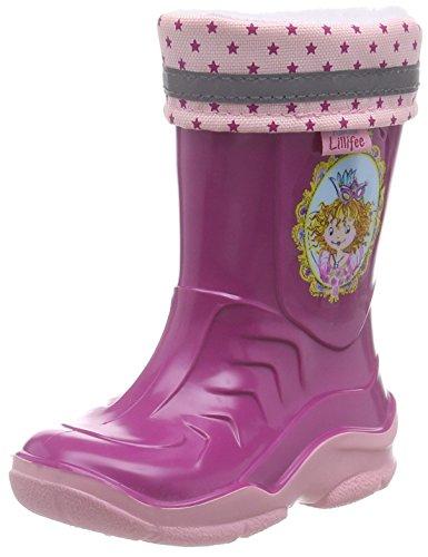 Prinzessin Lillifee Mädchen 120113 Gummistiefel, Pink (Fuchsia), 25 EU