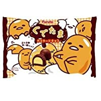 ぐでたま カスタードチョコ ファミリーパック 18個入り【フルタ製菓】