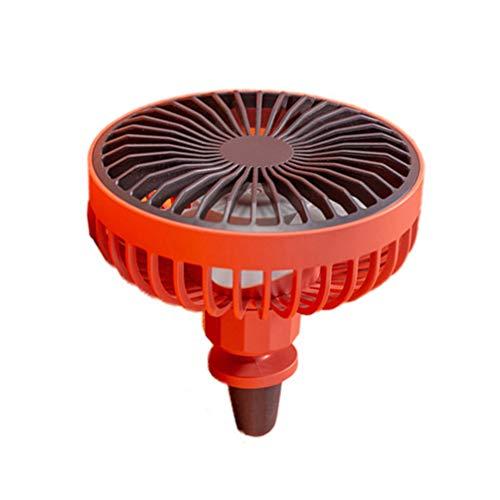 Garneck Auto Presa Daria Ventilatore Presa Aria Condizionata Sfiato USB Ventola di Raffreddamento Camion Mini Ventilatore Rosso
