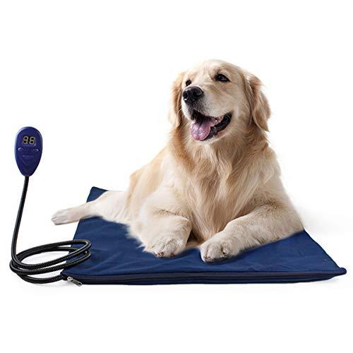 PETCUTE Manta Eléctrica para Mascotas Cojín de Calefacció