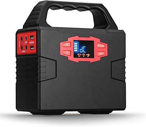 Generador Portátil Generador Inverter Paquete de batería de litio de 40800 mAh con 2 puertos CA / 3 puertos DC / 2 USB / Flasslight Suministro de batería de emergencia para la familia de camping al ai