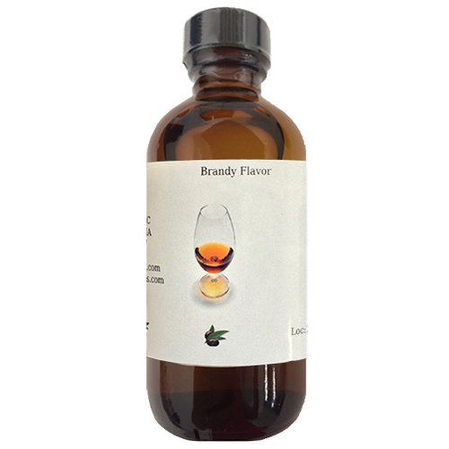 OliveNation Brandy Flavor - 2 oz - Premium Quality Flavoring For Baking