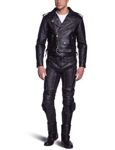 Protectwear Motocicleta - Chaqueta de cuero - Chopper chaqueta schwarz LJ-CO...