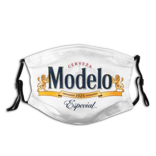 Modelo Beer Logo Adult dust mask Unisex Washable and Reusable Face Protection for Outdoor Activities