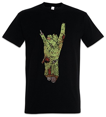 Urban Backwoods Zombie Metal Fist Camiseta De Hombre T-Shirt Negro Talla M