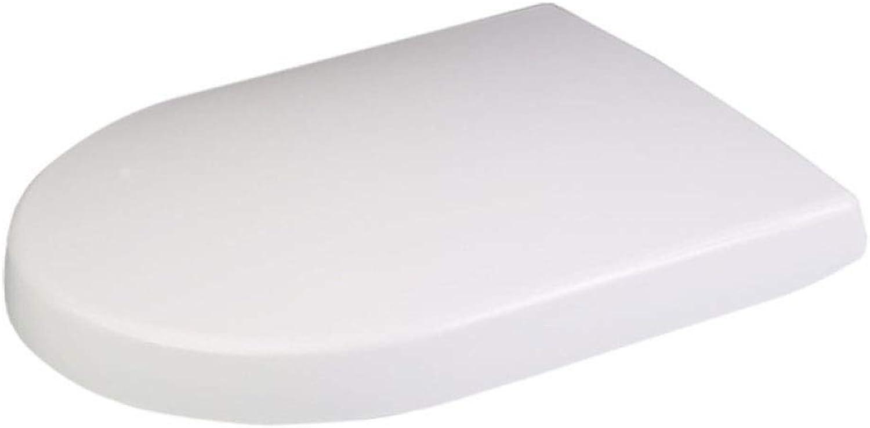 LBYMYB U-shaped Toilet Seat Adjustable Hinge Antibacterial Resin Toilet Seat toilet lid