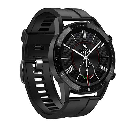 LDJ 2021 nuevo DT92 reloj inteligente de los hombres Bluetooth llamada pantalla táctil completa IP68 impermeable deportes fitness reloj smartwatch para Android iOS, E