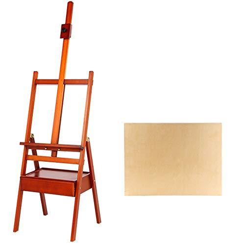 Easels Whiteboard bruin outdoor olieverfschilderij vouwen kunst statief massief hout schets kunstenaar HUYP
