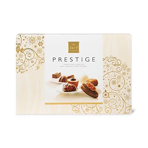 Frey Pralinés Prestige 258g - Assortierte Pralinen zum Verschenken - Schweizer Premium Schokolade - UTZ zertifiziert - Confiserie-Spezialitäten