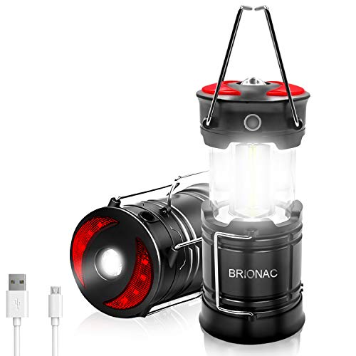 Brionac Rechargeable LED Camping Lantern