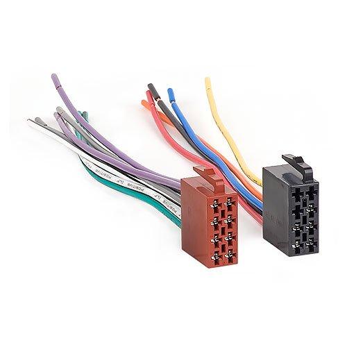 Audioproject A154 - Auto-Radio Radio-Adapter Universal ISO Adapter-Stecker - offene Enden Lautsprecher + Strom Kfz DIN Anschluss-Kabel kompatibel mit VW Opel Ford