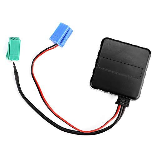 Kit per auto Bluetooth, adattatore per cavo o AUX-IN Stereo per auto Microfono Bluetooth Ricevitore o wireless per conversazioni in vivavoce e streaming musicale per accessori per auto Bluetoo