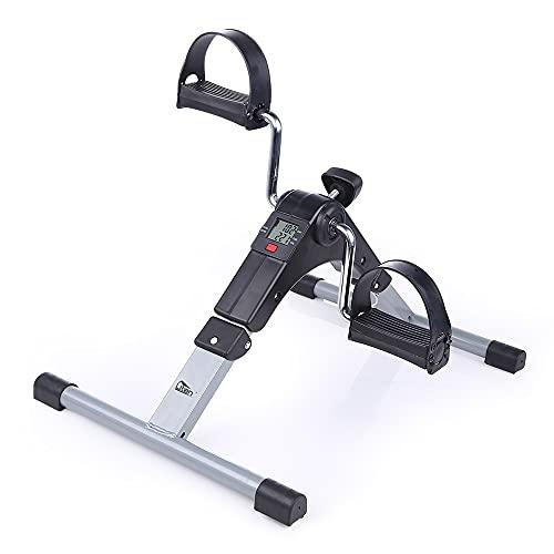Mini Bicicletta Portatile con Resistenza Regolabile una Cyclette PiegHevole per Allenare Braccia e Gambe Si Tratta di una Mini Bici Antiscivolo Adatta a Giovani Fitness e Anziani con Mobilità Ridotta