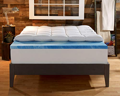 Gel Memory Foam Topper By Sleep Innovation*