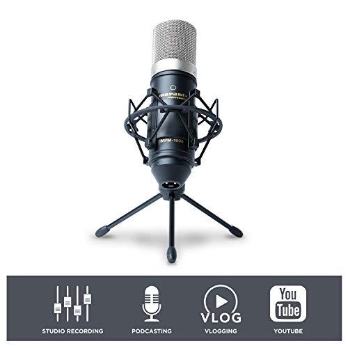 Marantz Professional MPM-1000 - Studio Recording Condenser Microphone with...