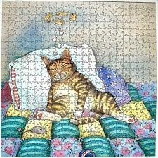 Gary Patterson's Cats - Cat Nap - Puzzle 529 Piece Jigsaw Puzzle By Buffalo Games Collectibles