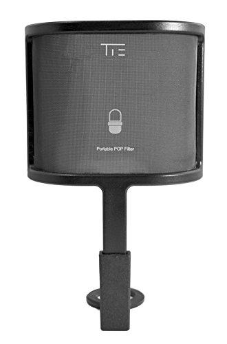 Tie Studio - Filtro anti pop metálico enchufable para micrófonos