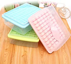 PP With Lid With Ice Shovel Seal 66 Gedog Small Ice Cube Ice Box Pink