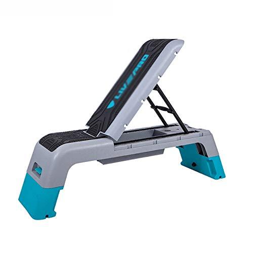 QWASZX Plataforma Step Fitness - Estación de Ejercicios Versátil, Banco de Pesas, Paso a Paso y Caja Pliométrica para Ejercicios Cardiovasculares y Entrenamiento de Fuerza