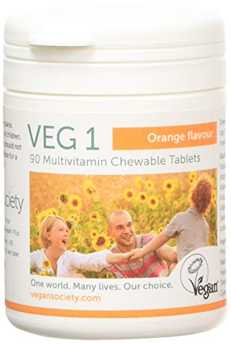 VEG1 Vegan Society Multivitamin Orange, 200 g