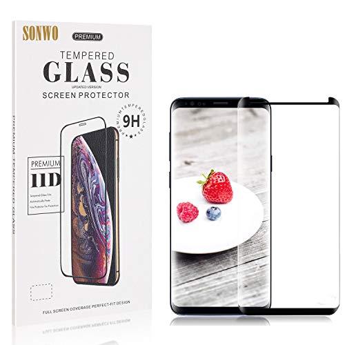 SONWO Schutzfolie für Galaxy S9 Plus Panzerglas, Ultra Clear 9H Panzerglas Displayschutzfolie für Samsung Galaxy S9 Plus, HD Klar Tempered Schutzfolie, 1 Stück