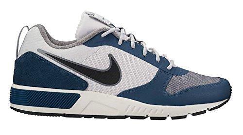 Nike Herren Sportschuh Freizeitschuh Nightgazer Trail grau blau, Größe:41