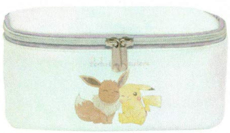 [Pokemon] BPK1850 Vanity Pouch (White)   BPK1850 Vanity Pouch (White)