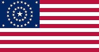 us flag circle